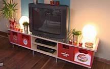 riffelblech fernsehschrank tv board f r m nner. Black Bedroom Furniture Sets. Home Design Ideas